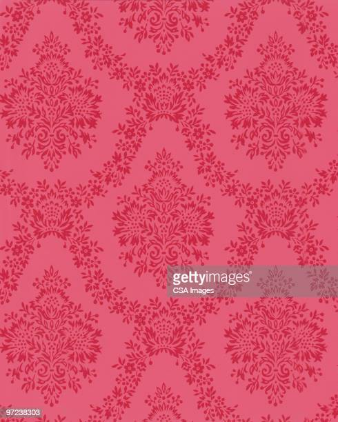 abstract pattern - floral pattern stock illustrations