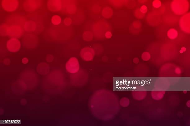 Abstract Red Defocused Background