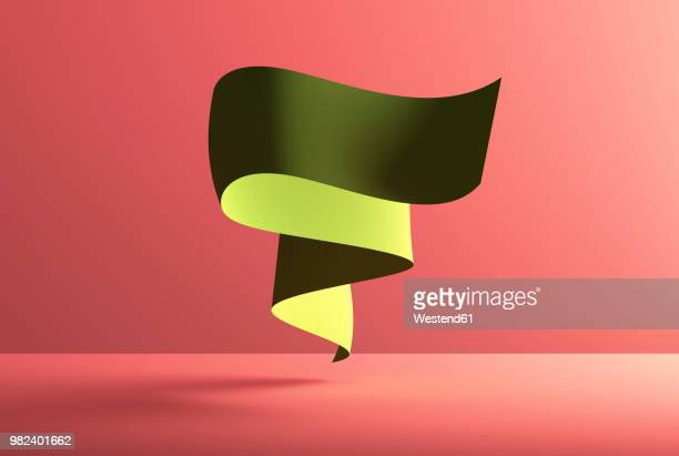 bildbanksillustrationer, clip art samt tecknat material och ikoner med abstract shape over red background, 3d rendering - vitalitet