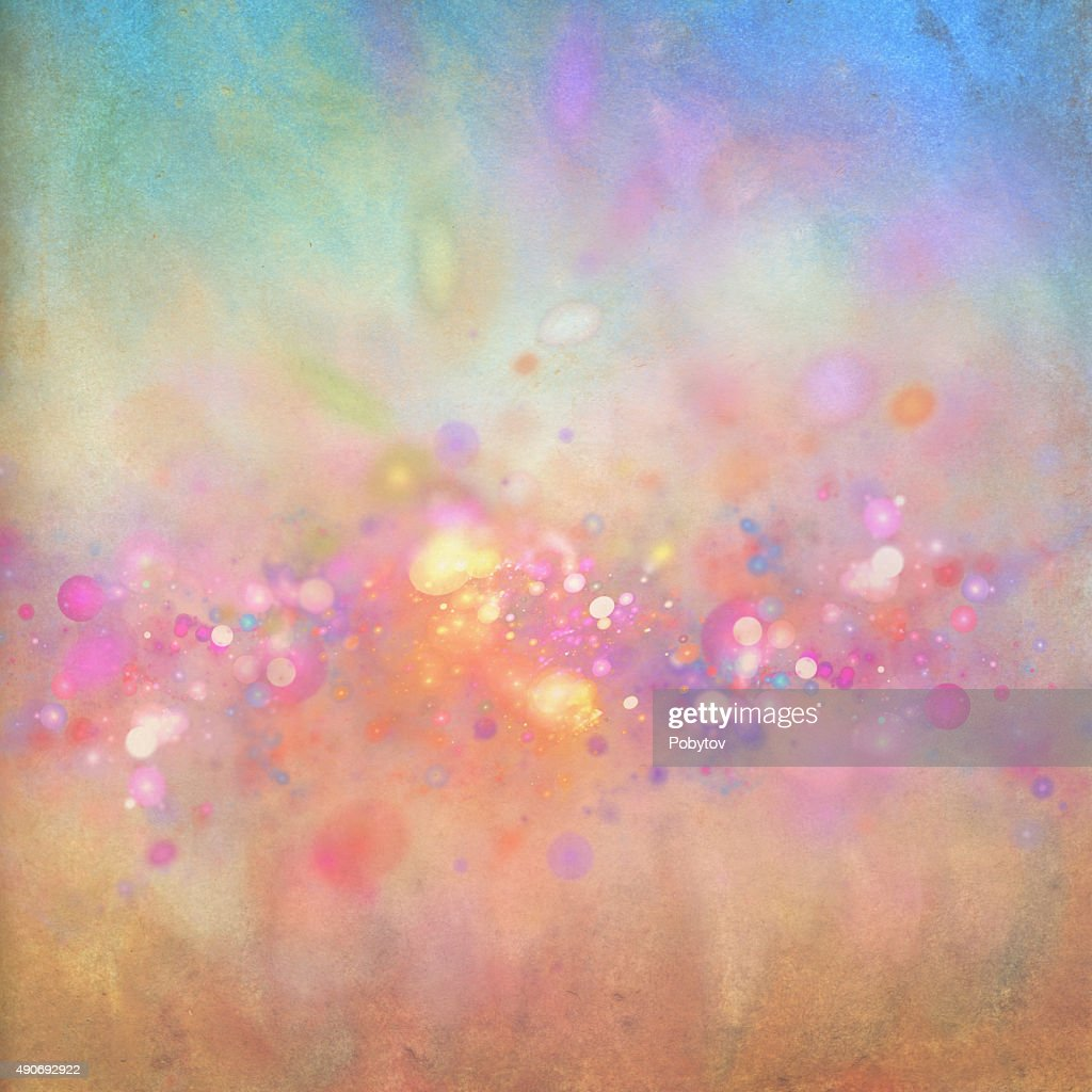 Abstract Spring Watercolor Background High Res Vector