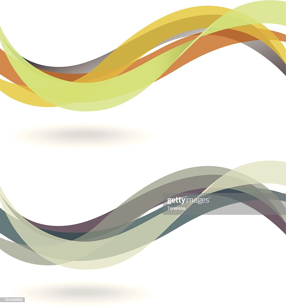 Abstract winding background