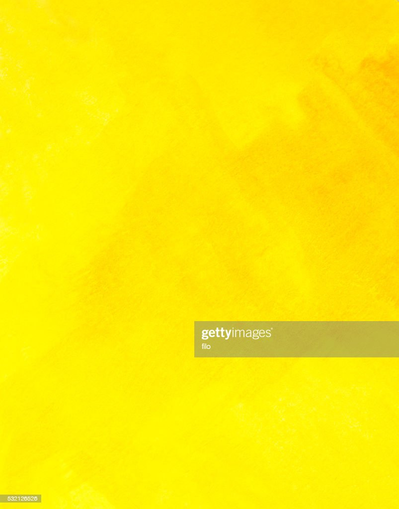 Abstract Yellow Watercolor Texture Background : stock illustration