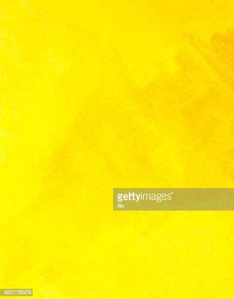 abstract yellow watercolor texture background - yellow stock illustrations