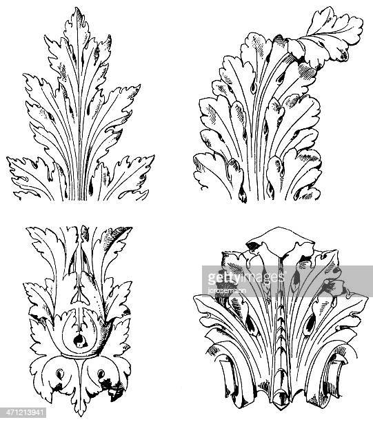 Acanthus leafs