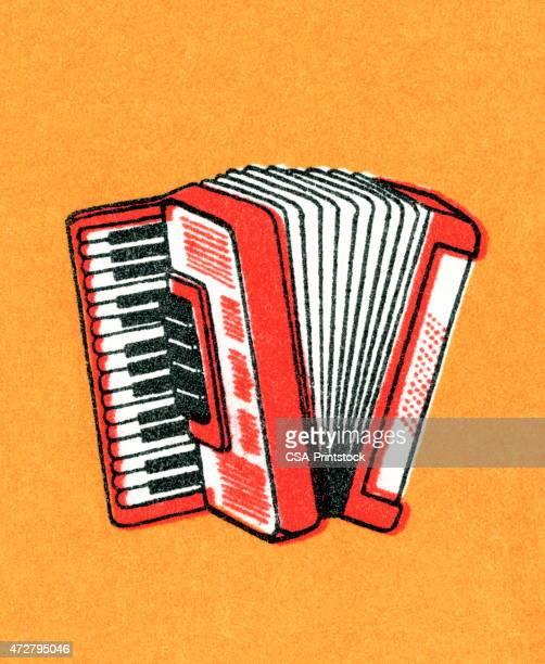 accordion - accordion stock illustrations
