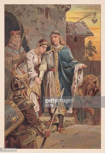 Acusación de una joven pareja por la Inquisición, siglo XIII