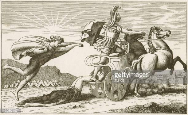 Aquiles arrastando o Corpo Morto de Hector