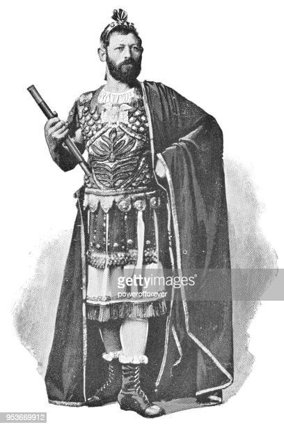 Actor Portraying Pontius Pilate at Passion Play in Oberammergau, Germany - 19th Century