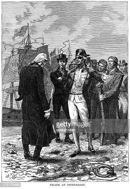 Admiral Horatio Nelson at Copenhagen