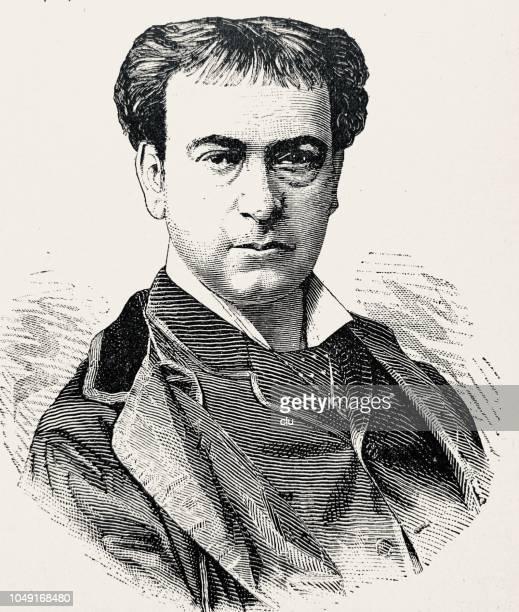 Adolf Sonnenthal, austrian actor, 1834-1909