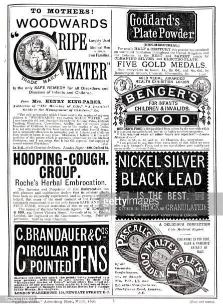雑誌の広告、1890年 - ヨーロッパ文化点のイラスト素材/クリップアート素材/マンガ素材/アイコン素材