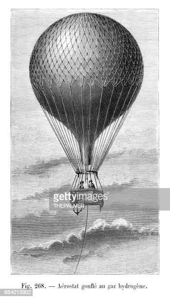 ballon dirigeable illustration