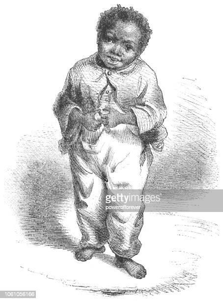 African American Boy - Victorian Style Fashion (1859)