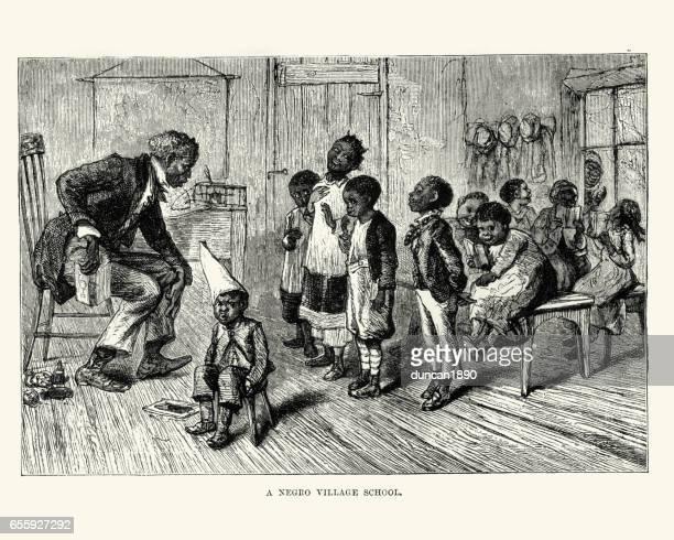 African american village school, 19th Century