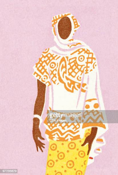 illustrations, cliparts, dessins animés et icônes de african woman - femme africaine