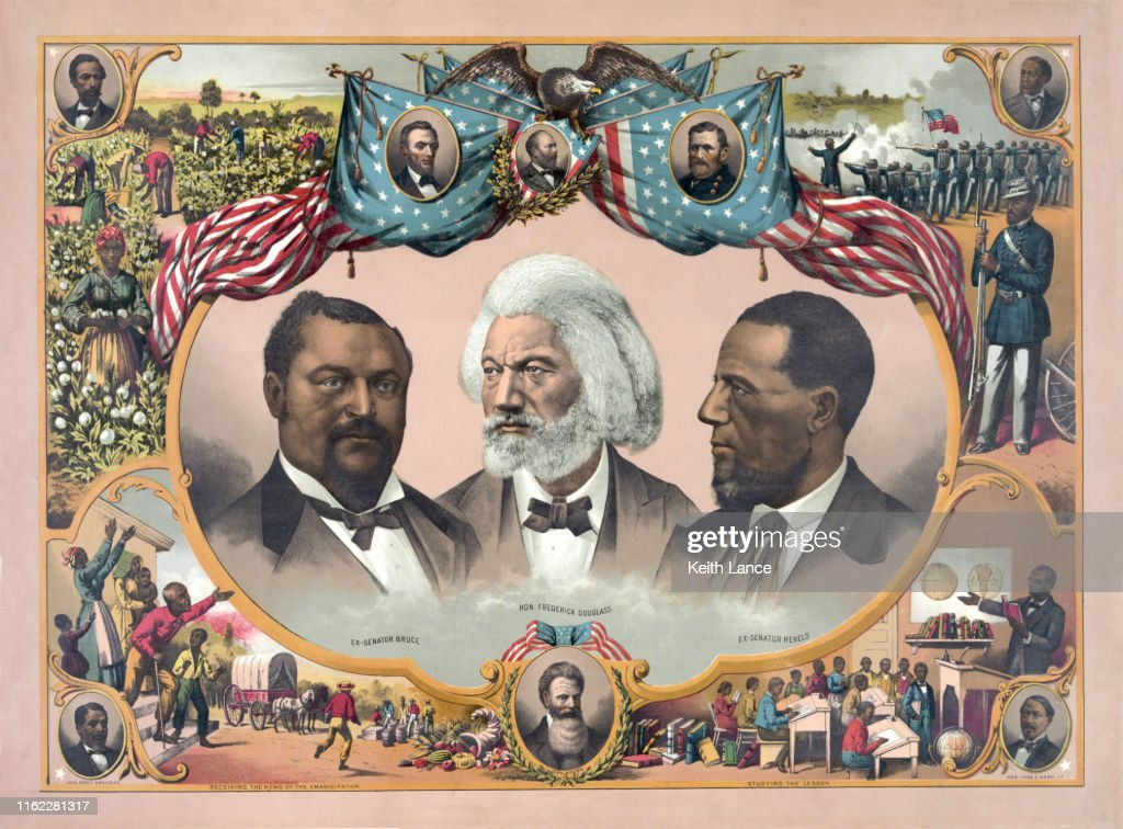 African-American Heroes : stock illustration