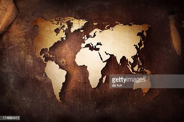 Old World Map Wallpaper Stock Fotos Und Bilder Getty Images