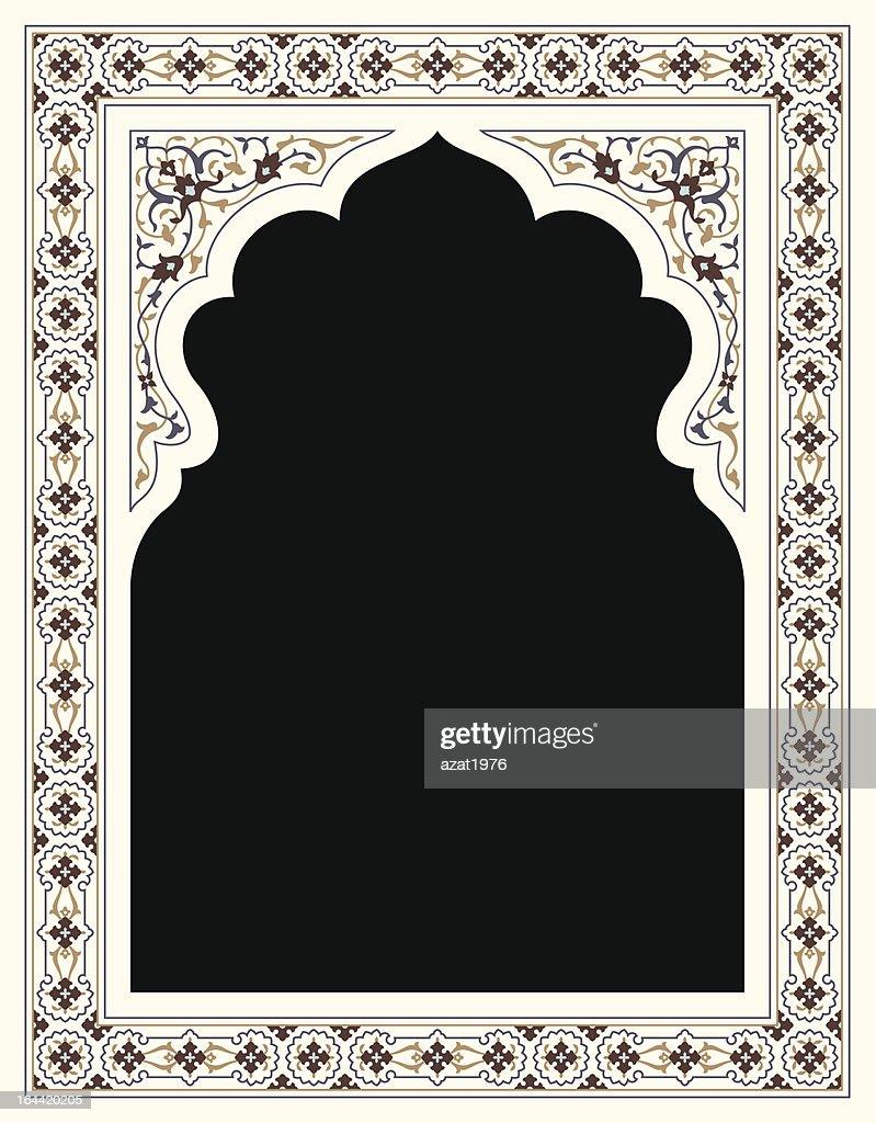 Agra Floral Frame