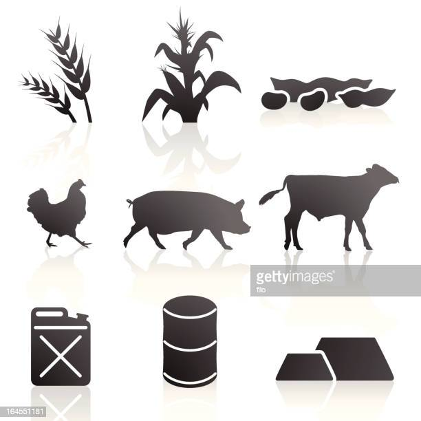 Agriculture and Commodity Symbols