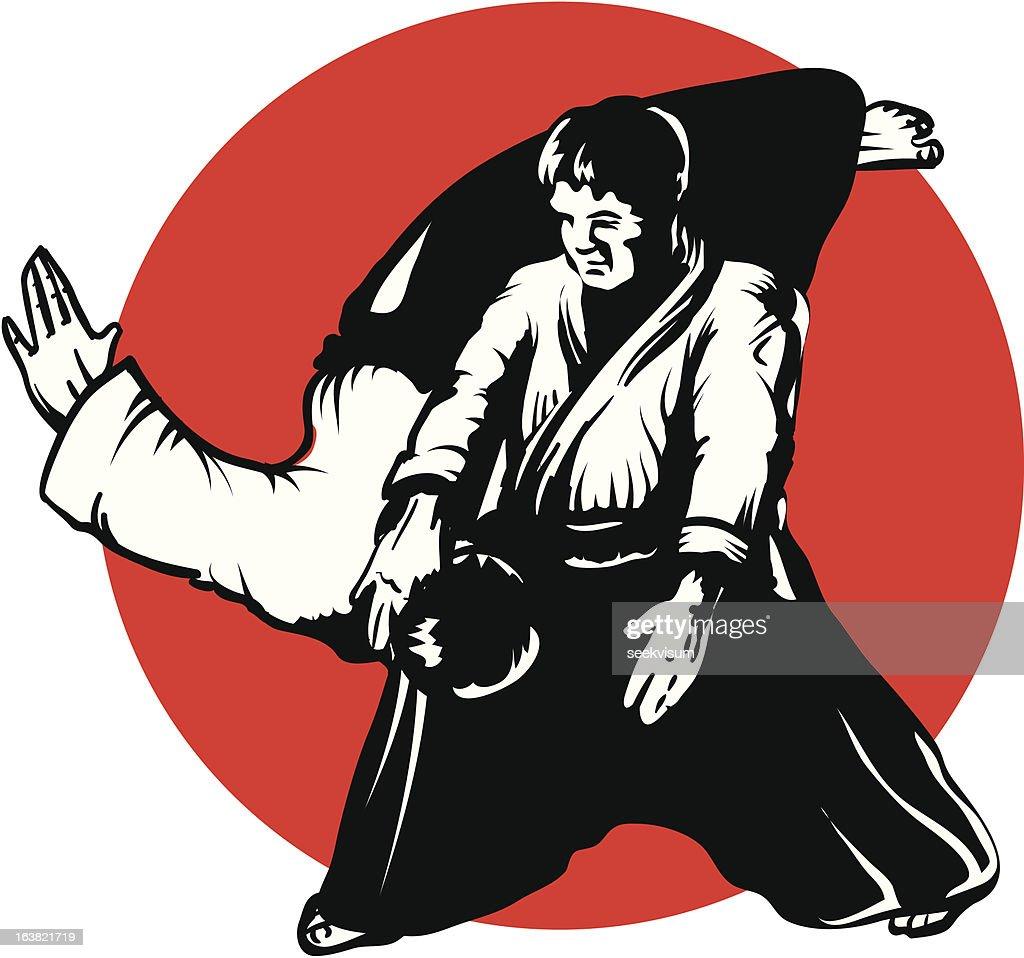 Aikido - Irimi Nage throw