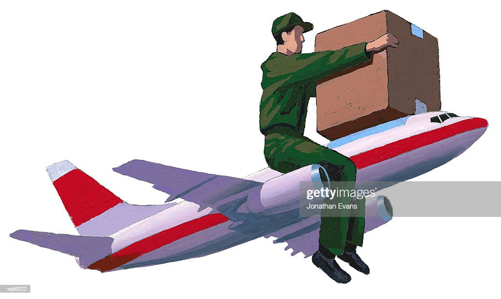 Air Delivery : Stock Illustration