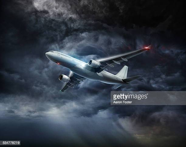 Aircraft in Storm