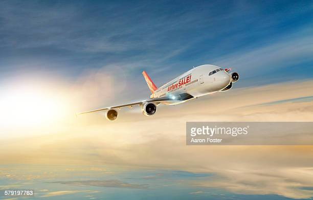 airfare aale aircraft - australia day stock illustrations