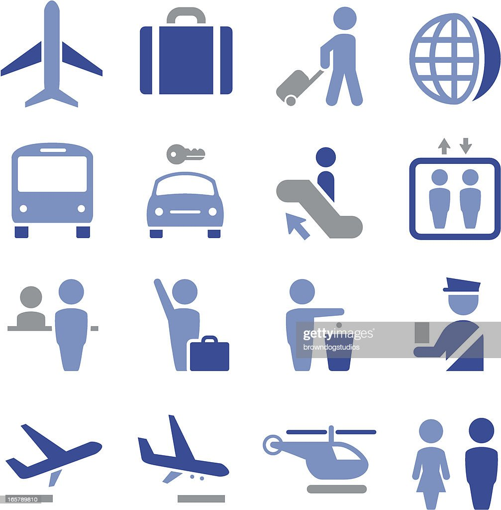 Airport Icons - Pro Series