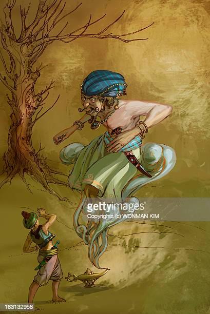 Aladin and Genie