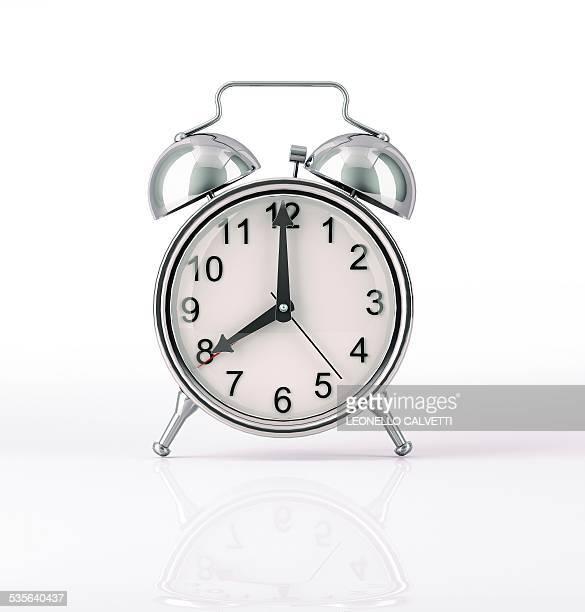 alarm clock, artwork - alarm clock stock illustrations