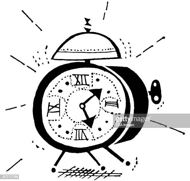 alarm clock - time stock illustrations