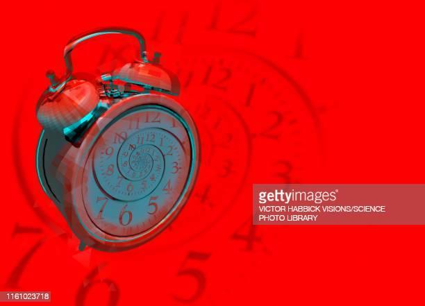 alarm clock, illustration - time stock illustrations