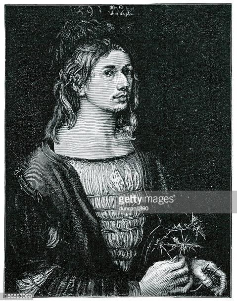 albrecht dürer - high renaissance stock illustrations