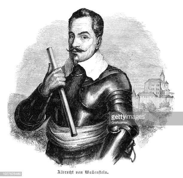 アルブレヒト ・ フォン ・ ヴァレンシュタイン、三十年戦争の軍事指導者