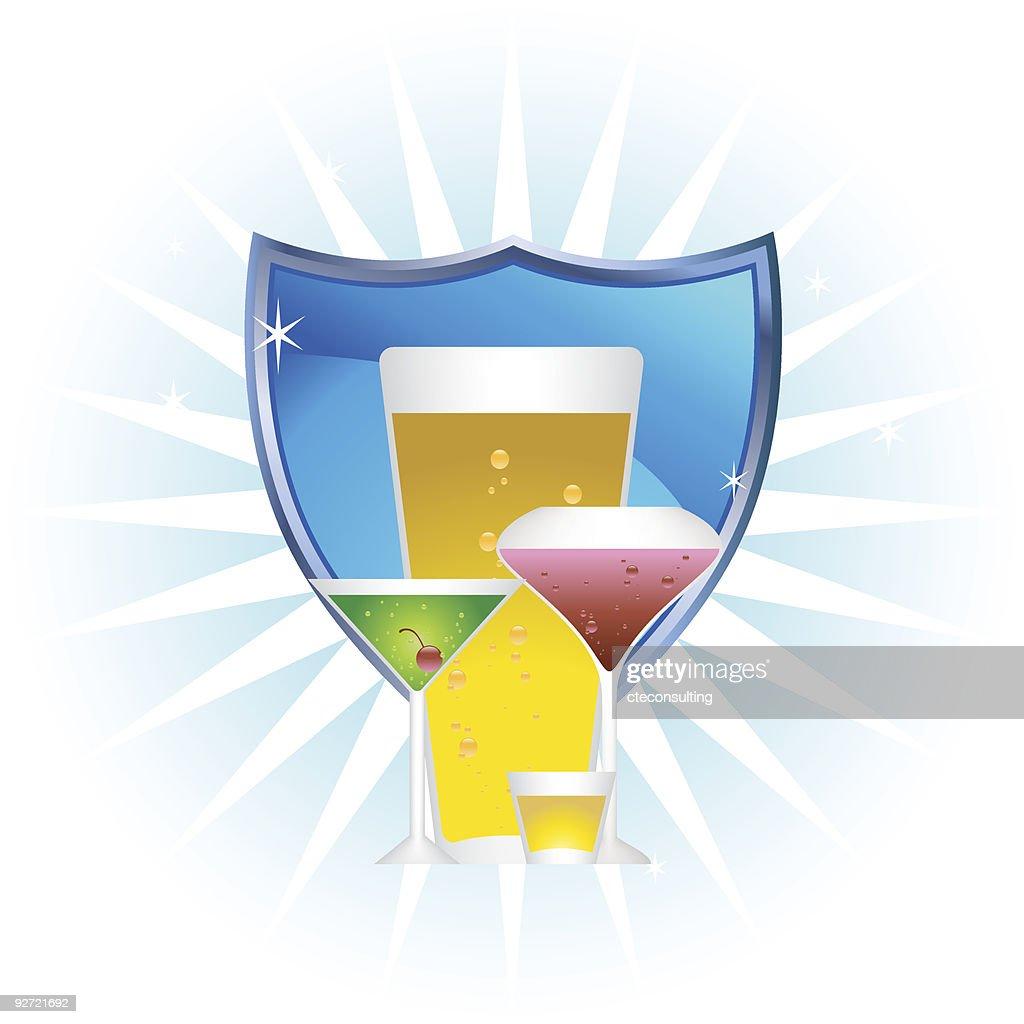 Alcoholic Beverages: Cool Shield Set
