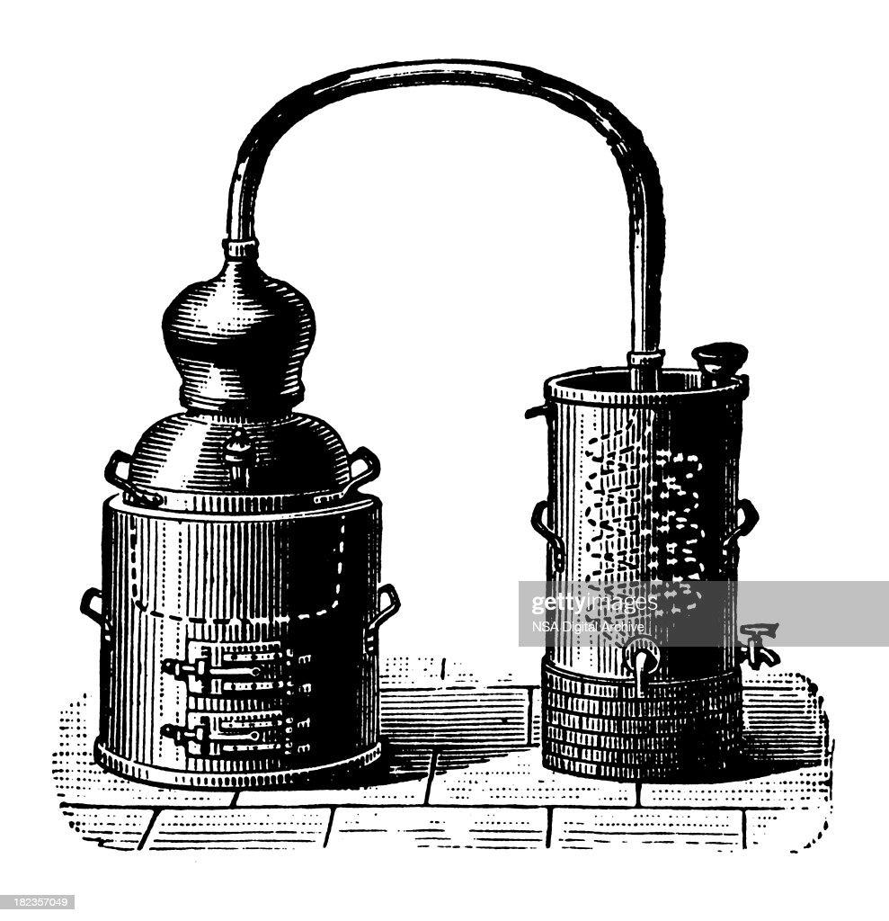 Alembic | Antique Design Illustrations : stock illustration
