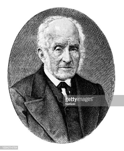alessandro manzoni ,was an italian poet and novelist - alessandro manzoni stock illustrations