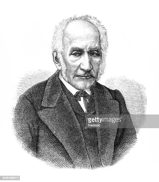 alessandro manzoni ,was an italian poet and novelist. - alessandro manzoni stock illustrations