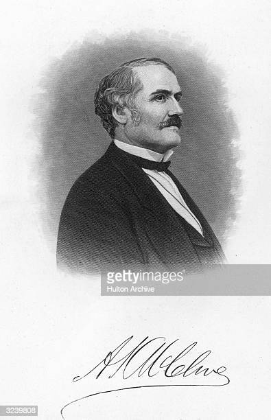 Alexander Kelly McClure American editor and politician published 'Chambersburg Repository' in 1852 Held the rank of General in the Union Army during...