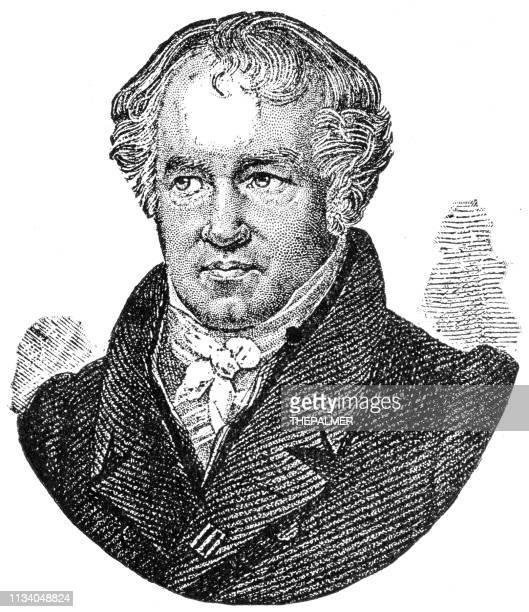 Alexander von Humboldt grabado 1894