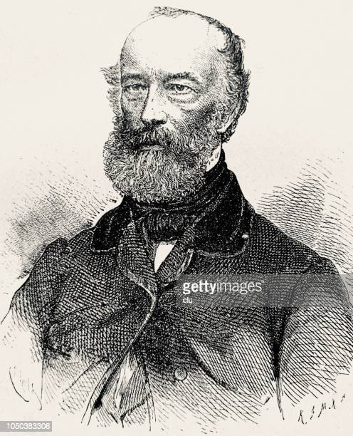 Alfred Krupp, German industrialist, 1812-1887