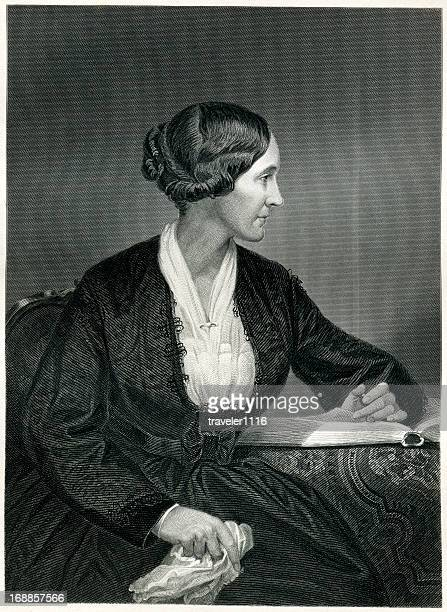alice cary - fame stock illustrations