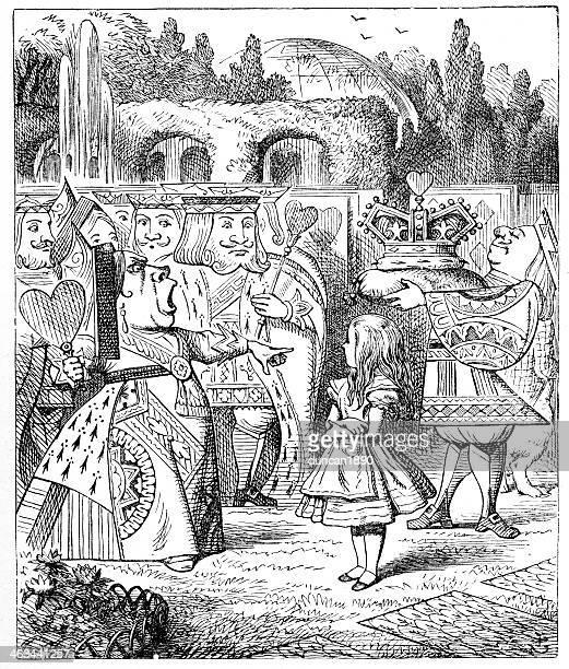 Alice in Wonderland - Queen of Hearts