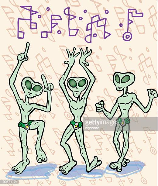 Alien Beach Party