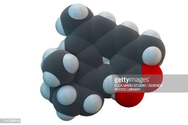 alitretinoin cancer drug molecule - eczema stock illustrations