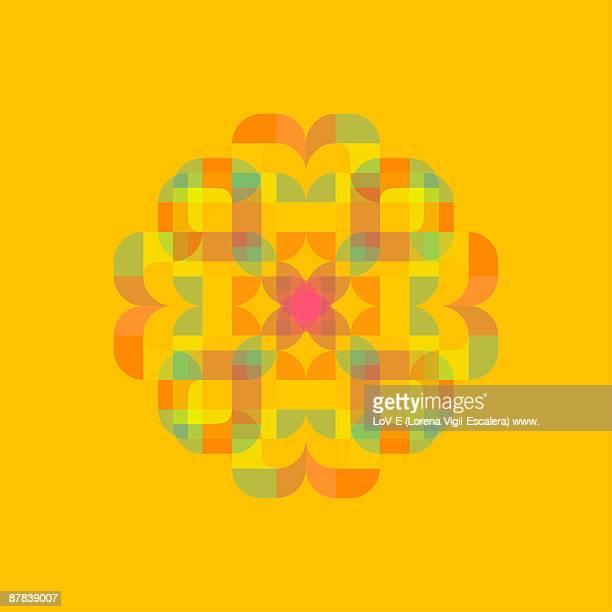 Amarillo on yellow background