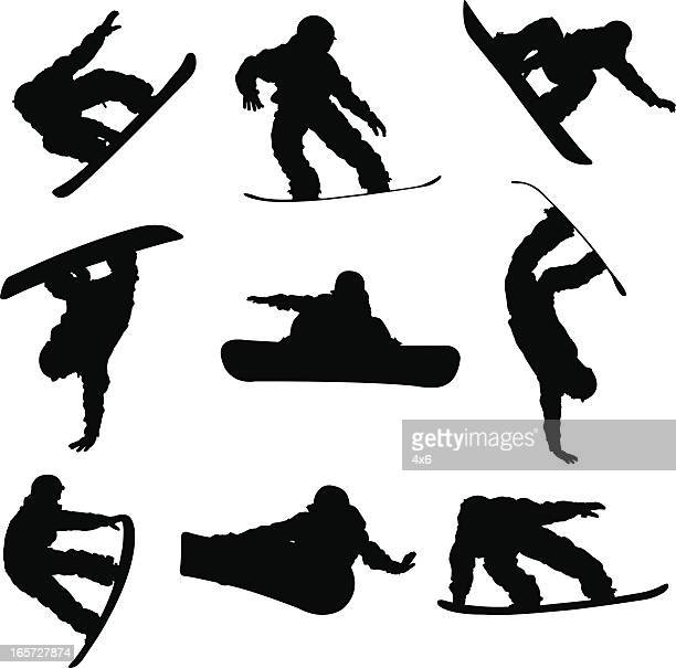 Amazing snowboarding tricks