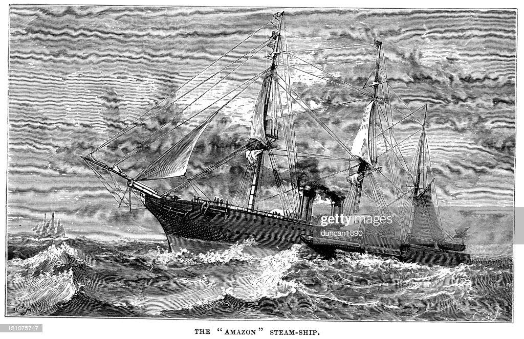 Картинки амазонка пароход, подругу открыткой