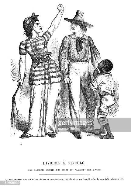american civil war political cartoon - black civil rights stock illustrations, clip art, cartoons, & icons