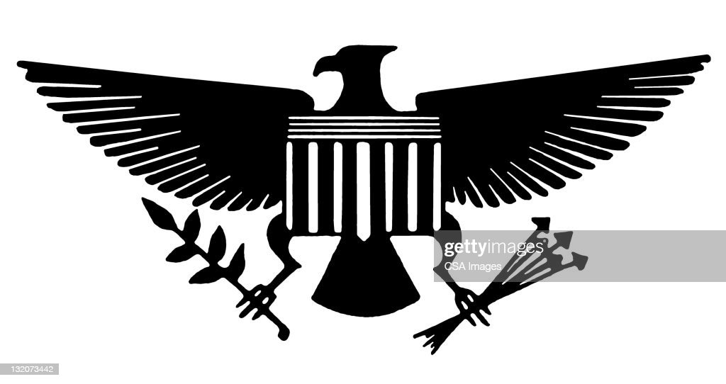 American Eagle Symbol Stock Illustration Getty Images